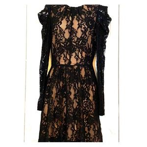 Michael Kors Black Lace Dress